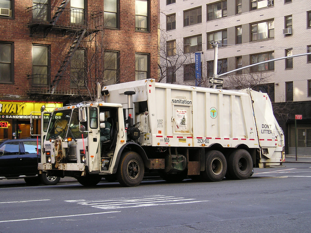 Refuse Collection new york city noise